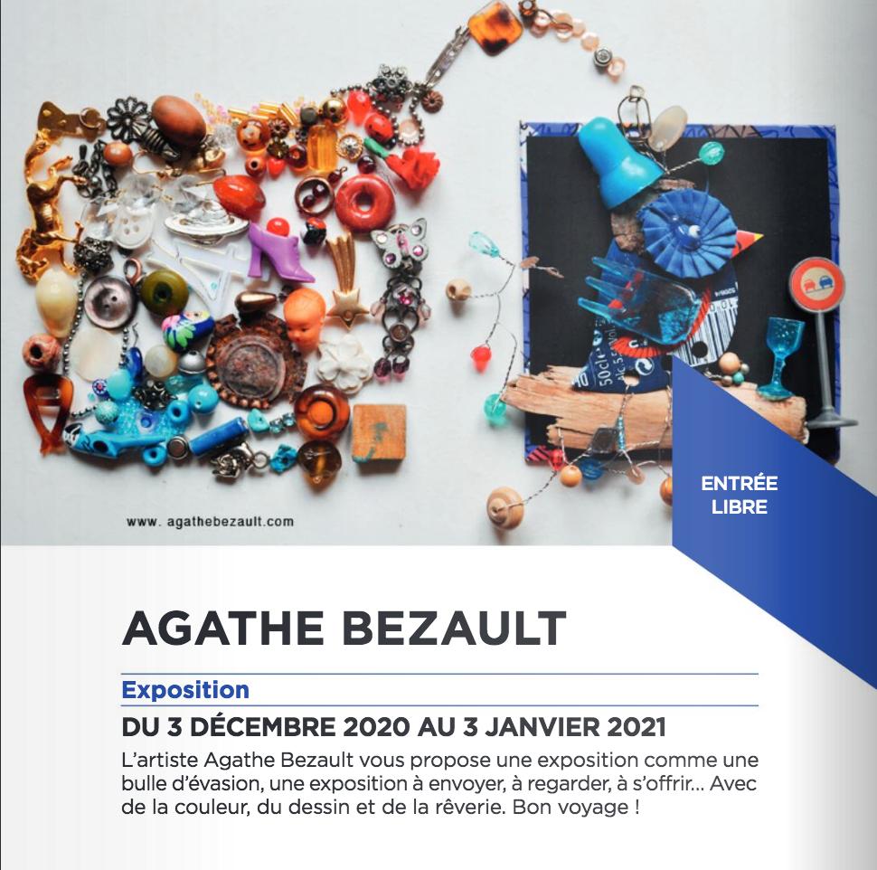 expo-agatheBezault-centre culturel d'Orly