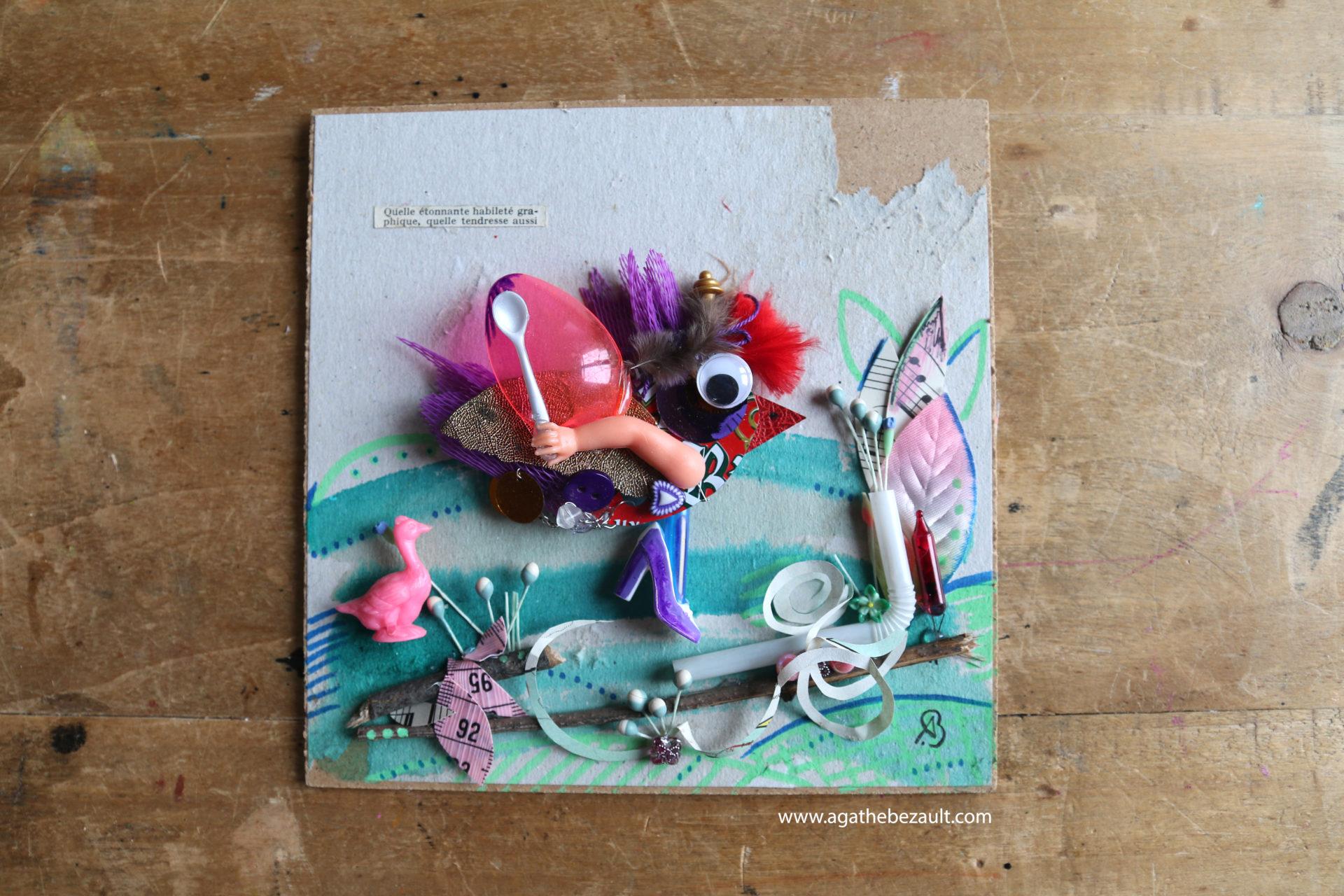3oiseau-aux brillants-plumages-BEZAULT