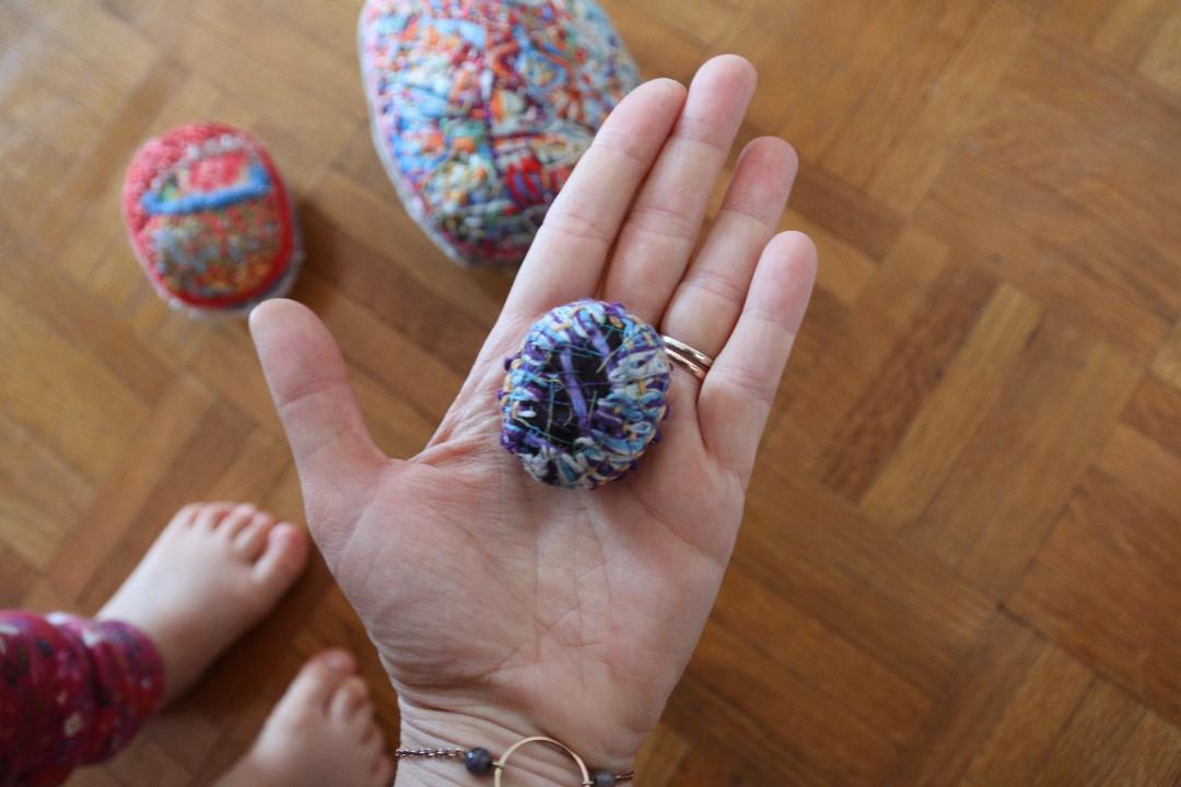 main du nouveau né